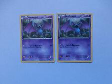Carte Pokemon Nosferapti 50 pv Noir et Blanc Tempête Plasma x 2 !!!
