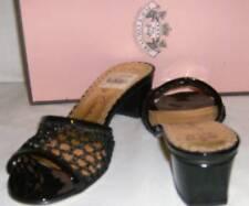 Juicy Couture Sz 7.5M Shae Black Mesh NEW Shoes Women