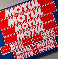 MOTUL12pc Racing Decal SET Sticker Aufkleber ATV MX QUAD BIKE Vinyl Graphic