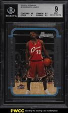 2003 Bowman Rookies & Stars LeBron James ROOKIE RC #123 BGS 9 MINT