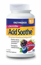 Enzymedica Acid Soothe Chewable 30 Capsules