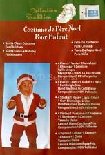 FATHER CHRISTMAS SANTA CLAUS COSTUME For Children BNIP