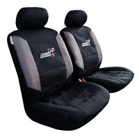 For Toyota Hilux SR SR5 Dual Cab 2009-2019 Seat Covers Waterproof Canvas Front