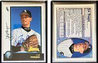 Jim Parque Signed 1998 Bowman #351 RC Card Chicago White Sox Auto Autograph