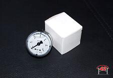Glicerina MANOMETRO PRESSIONE BENZINA Ø 40mm 0-6 bar c20let vr6 Turbo 1,8t g60 16v