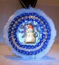 """Winter Wonderland"" kit makes 1   Bead Sequin Ornaments Christmas Snowman"