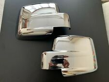 CHROME WING MIRROR COVERS FITS JEEP PATRIOT DODGE NITRO MODELS 2007-2017