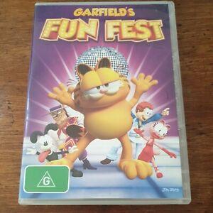 Garfield's Fun Fest DVD R4 Like New! FREE POST