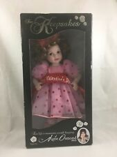 New Marie Osmond 2008 Keepsake Dolls Valentine's Day Nib