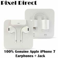 Nuevo Genuino Apple Auriculares Auriculares Earpod, Conector Lightning iPhone 7 + Jack