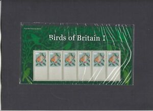 2010 Post & Go Birds of Britain presentation pack with no values on stamps