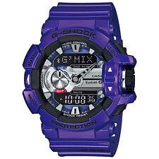 CASIO G-SHOCK G'MIX Bluetooth Blue / Purple Watch GShock GBA-400-2A