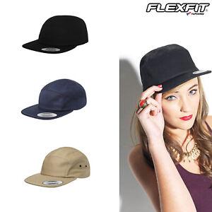 Flexfit by Yupoong 5-Panel Jockey Cap - Classic Flat Casual Cap (7005)
