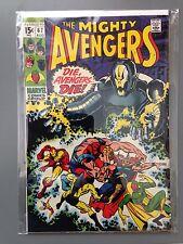 Avengers #67 FN/VF 1st Ultron Cover App Vision Battle against Ultron Marvel 1963