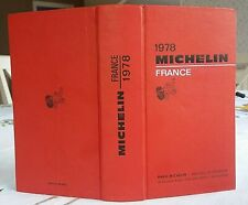 Guide MICHELIN rouge FRANCE 1978 : Excellent état