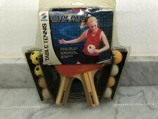 Sealed NIP Sportcraft Ping Pong Organizer Padl Pak Paddle Ball Net Post Set