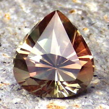 GREEN-PINK-PEACHY MULTICOLOR SCHILLER OREGON SUNSTONE 2.53Ct FLAWLESS-RARE!