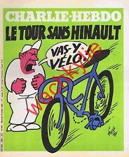 Charlie Hebdo n°505 du 16/07/1980 Tour de France Hinault Cyclisme Gébé Coluche