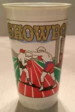 Vintage Showboat Casino Plastic Coin Cup Boxing Bowling Sport