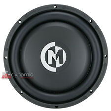 "Memphis Audio SA10D4 Car Stereo 10"" Shallow Dual Voice Coil 4-Ohm Subwoofer New"