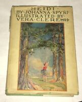 Heidi Johanna Spyri Louise Brooks Illustrated Vera Clere 1928 Nelson Honor w/DJ