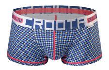 """CROOTA Mens Underwear Boxer Briefs, Trunks Supima, Houndstooth, M (Waist 29-31"""")"""