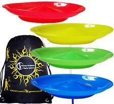 Spinning Plates Set of 4 + Travel BAG / Kid Safe Spinning Plate Set - Juggling
