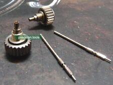 7.0mm Stainless Steel 0946BB Diver Screw Crown Tube Stem Set For ETA 2824 2 Sets