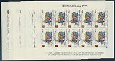Belgien 1841/46 Kleinbogen postfrisch ..........................................