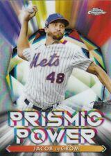 """2021 Topps Chrome Baseball """"Prismic Power"""" Insert Cards"""