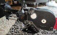 Caméra film 16 mm éclair NPR  + Lens Angénieux  f 12 - 120 mm