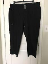 Avenue Stretch Women's Casual Pants Sz 26 Black