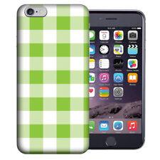 MUNDAZE Apple iPhone 6 Design Case - Green White Plaid Cover