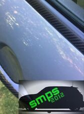 VAUXHALL/OPEL ASTRA Mk5/H beltline strisce (al di sotto finestra Trim) in Fibra di Carbonio