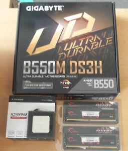 Aufrüstkit AMD Ryzen 5 3600 AM4, Gigabyte B550 MB u. 16 GB G.Skill Aegis 3200
