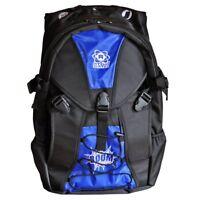 Atom Skates Blue Backpack - Roller Skate Equipment Bag - Roller Derby Gear