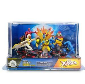 Disney - X-Men Deluxe Figure Play Set Includes Nine Characters: Gambit,...