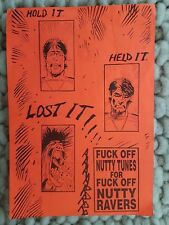 Rare SLIME TIME NUTTY RAVER early 1990S club rave flyer Soundshaft Ray Keith