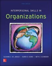 Interpersonal Skills in Organizations with Premium Content Card by Suzanne de...