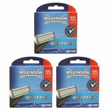 30 Wilkinson Sword Quattro Plus 3 x 10 Klingen Ersatzklingen NEU OVP