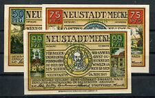 Neustadt ( Mv ) 3 Scheine Notgeld ........................................2/7854
