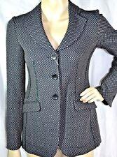ARMANI Jacke DAMEN Blazer jacket Schurwolle 792€ NEU 36 virgin wool Hahnentritt