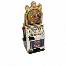 Miniature Wheel Of Fortune Slot Machine Bank - Money Bank Mini Slot Machine