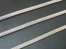 4 Meter Kette Metall Silber 3mm (CAD-09) Schmuck Halskette Armbänder Halsketten