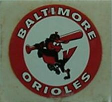 BALTIMORE ORIOLES 1970s STICKER