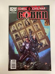 IDW: G.I. JOE: COBRA CIVIL WAR: ISSUE #5: NM CONDITION: RI COVER