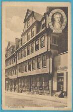 Postkarte Goethe Haus Frankfurt am Main aus 1911!