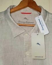 Tommy Bahama 100% Linen Long Sleeve Button Shirt 2XL NWT $120.00