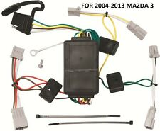 2004-2013 MAZDA 3 TRAILER HITCH WIRING KIT HARNESS PLUG & PLAY DIRECT T-ONE NEW