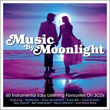 Music By Moonlight VARIOUS ARTISTS Best Of 60 Easy Listening Songs NEW 3 CD